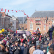 Annual flower pageant in Haarlem, The Netherlands — Stock Photo