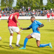 Multicultural soccer weekend 2013 in Amsterdam, The Netherlands — Stock Photo
