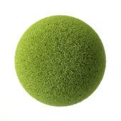 Green grass ball — Stock Photo