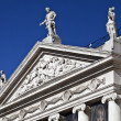 Pediment and Tympanum - Stock Photo