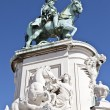 Equestrian Statue of King Jose I — Stock Photo