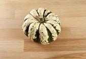 Miniature Green Pumpkin — Stock Photo