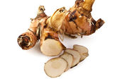 Rhizome of Galangal — Stock Photo