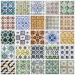 Portuguese Tiles Collage — Stock Photo #32725099