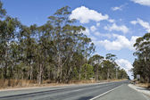 QLD Country Road — Stock Photo