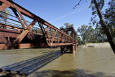 Railway Bridge at Tocumwal — Stock Photo