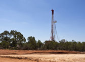 Land drilling rig — Stock Photo