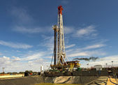 Land rig details — Stock Photo