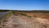 Città di scogliere bianco opale — Foto Stock
