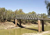 Tilpa Darling River Bridge — 图库照片