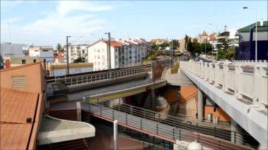 Suburban Rail — Stock Video