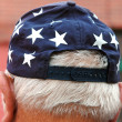 Americana cap. — Stock Photo