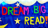 Bream big read banner. — Stockfoto
