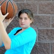 Female basketball player. — Photo