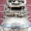 Chinese lion statue. — Stock Photo #14428833