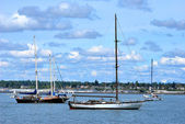 Sailboats. — Stock Photo