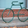 Bike rack. — Stock Photo