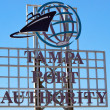 Stock Photo: Tampport authority symbol.