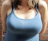 Sexy breasts. — Stock Photo