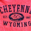 Cheyenne, Wyoming banner. — Stock Photo