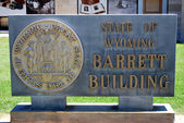 Barrett building. — Stock Photo
