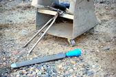 Farrier toolbox. — Stockfoto