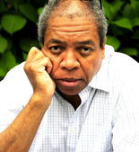 Homem africano-americano. — Foto Stock