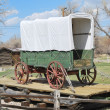 Covered wagon. — Stockfoto