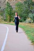 Female runner. — Stock Photo