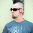 Mohawk man. — Stock Photo #32032693