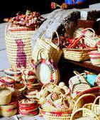 Straw vendor. — Stockfoto