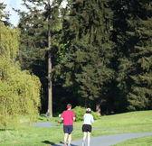 Couple jogging. — Stock Photo