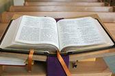 Santa biblia. — Foto de Stock