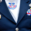 Air national guard soldier. — Stock Photo #47731343
