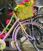 Amsterdam-fahrräder. — Stockfoto