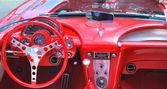 červené coトvette. — Stock fotografie