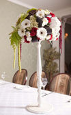 Wedding bouquet with gerbera flower — Stock Photo