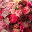 Stock Photo: Close-up of wedding bouquet