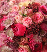 Close-up of wedding bouquet — Stock Photo