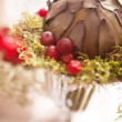 Festive table setting — Foto Stock