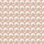 Pearl seamless pattern — Stock Vector