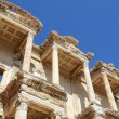 Roman Library of Celsus in Ephesus (Efes) from Roman time — Stok fotoğraf