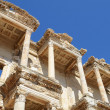 Roman Library of Celsus in Ephesus (Efes) from Roman time — Foto Stock
