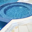 Stock Photo: Swimming pool at hotel close up