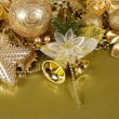 The christmas tree ornaments — Stock Photo
