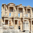 Roman Library of Celsus in Ephesus (Efes) from Roman time — Foto de Stock