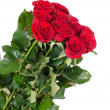 Bouquet of red roses isolated — Stock Photo