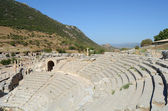 Roman theater in legendary Ephesus, Turkey — Foto Stock