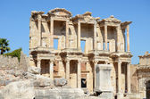 Roman Library of Celsus in Ephesus (Efes) from Roman time — Zdjęcie stockowe