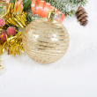Christmas and New Year Border — Stock Photo #14823045